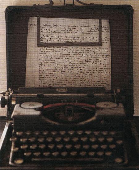Máquina de escrever de Howard Carter. Foto: Tim Beddow. Disponível em . Acesso em 06 de outubro de 2013.