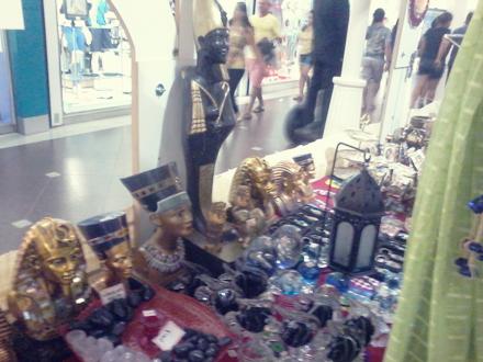 Mostra Egípcia no Shopping Jardins. Foto: Márcia Jamille. 2014.