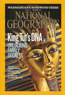 King's Tut DNA. Foto: Kenneth Garrett. 2010