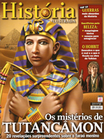 "Revista História Ilustrada, ""Os Mistérios de Tutancâmon"". 2013."